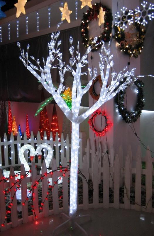 Fy 001 e03 no l acrylique santa lampe ampoule claus - Illumination de noel pas cher ...
