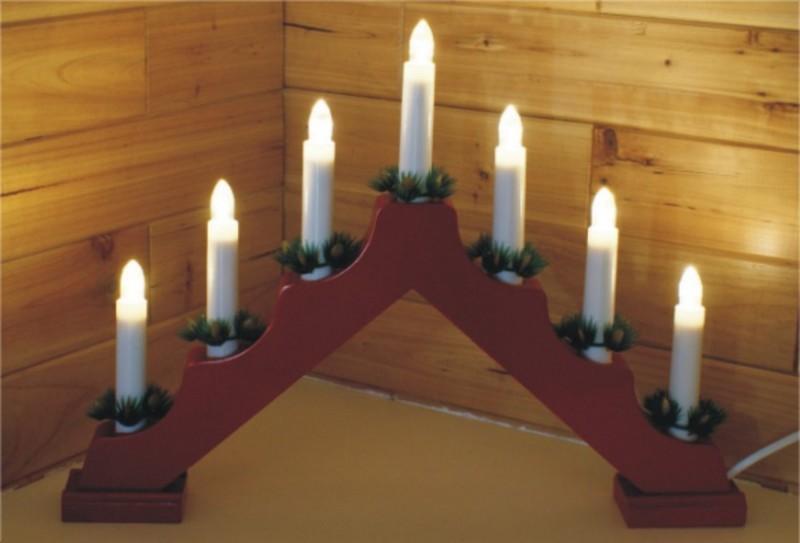 lampe noel FY 012 A01 bougie de Noël pont lampe à ampoule lampe noel