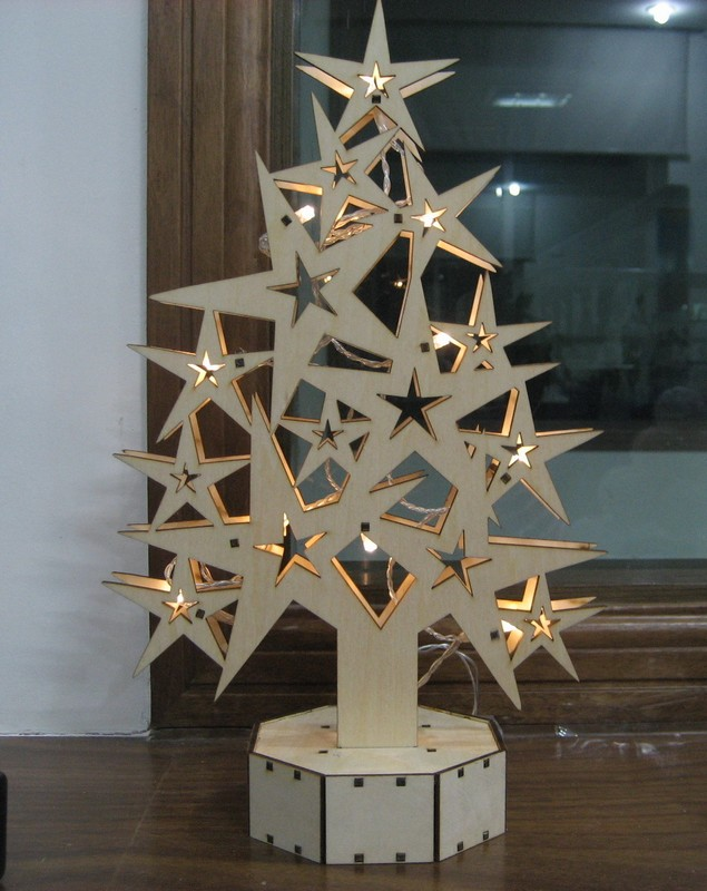 Fenetre Bois Pas Cher : Christmas Tree Window Lights