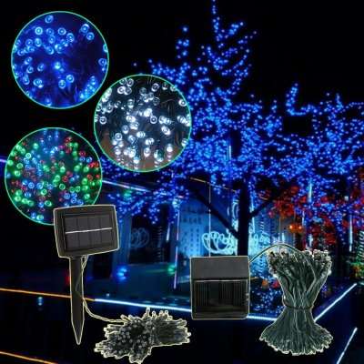 made in china  Solar Powered White 200 LED String Lights Garden Christmas Outdoor  corporation